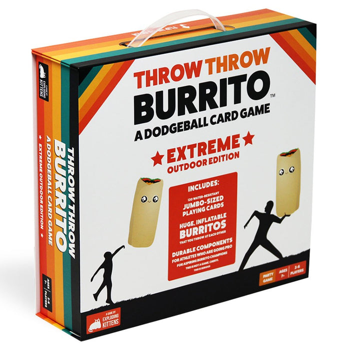 Throw Throw Burrito: Extreme Outdoor Ed Board Game
