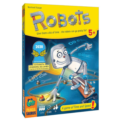 Robots Board Game