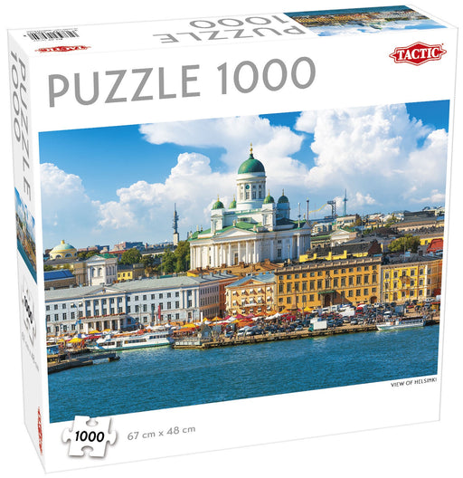 Puzzle: View of Helsinki 1000pcs (Pre-order) Jul 2021