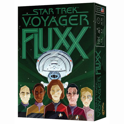 Star Trek Voyager Fluxx Board Game