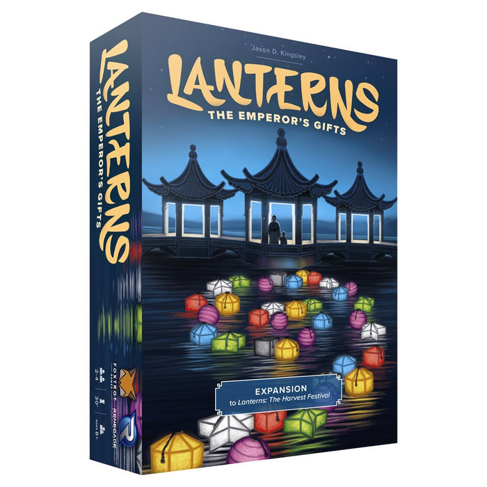 Lanterns: The Emperor's Gifts Expansion Board Game
