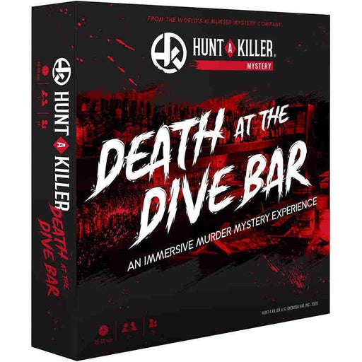 Hunt A Killer - Death at the Dive Bar Board Game (Pre-order)
