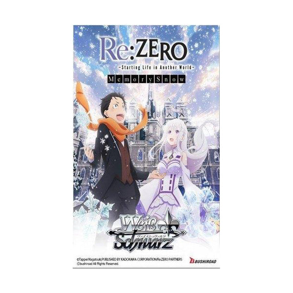 Weiss Schwarz: Re:Zero Memory Snow - English Booster Box