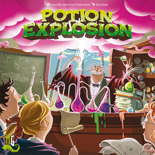Potion Explosion (2nd Edition) Board Game