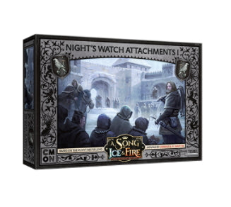 A Song of Ice and Fire: Night's Watch Attachments #1 Miniatures
