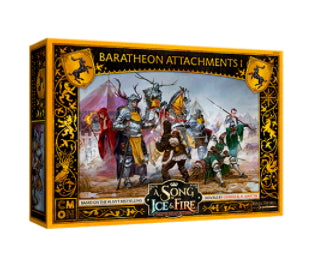 A Song of Ice and Fire: Baratheon Attachments #1 Miniatures