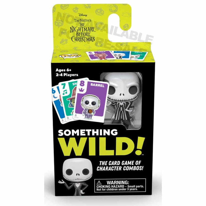 Something Wild Card Game - The Nightmare Before Christmas Board Game