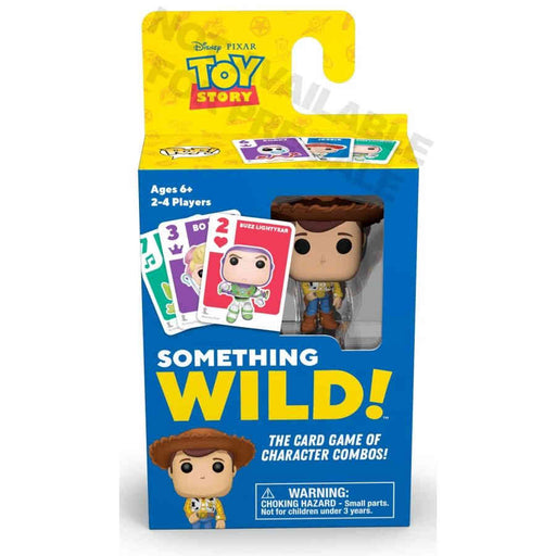Something Wild Card Game - Toy Story Board Game