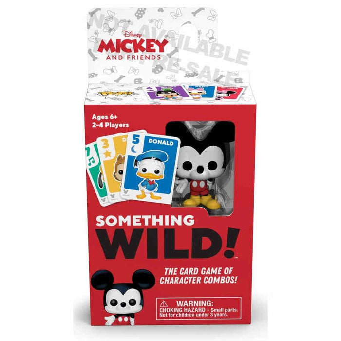 Something Wild Card Game - Mickey & Friends Board Game