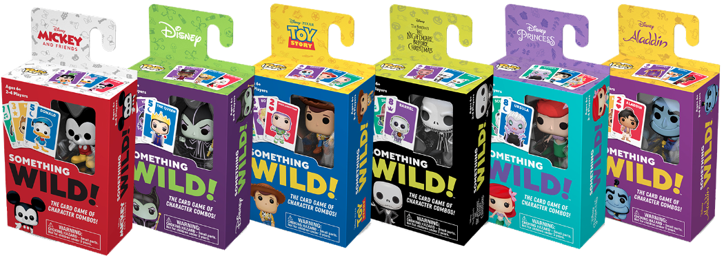 Something Wild Card Game - Toy Story Funko Board Game