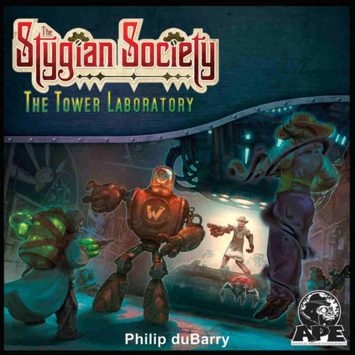 The Stygian Society: The Tower Laboratory Expansion Board Game