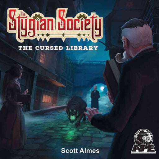 The Stygian Society: The Cursed Library Expansion Board Game