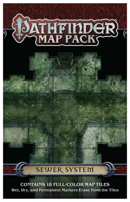 Pathfinder Map Pack: Sewer System RPG Map Pack