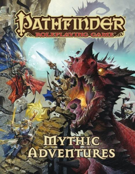 Pathfinder: Mythic Adventures RPG Book
