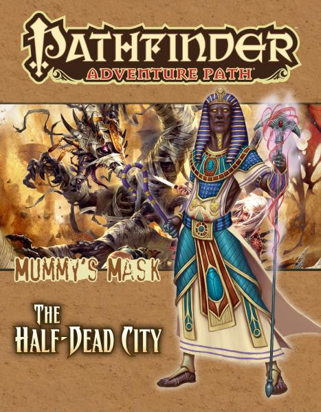 Pathfinder Adventure Path: Mummy's Mask #1: The Half Dead City Board Game