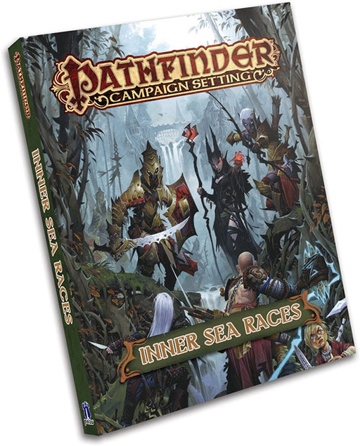 Pathfinder Campaign Setting: Inner Sea Races RPG Book