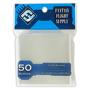 DP: Square (BU) Clear Board Game Sleeves