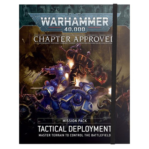 40-11 Warhammer 40K: Tactical Deplyoment Misson Pack