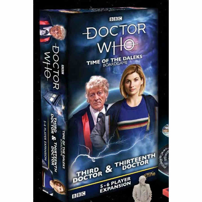 Doctor Who: Third and Thirteenth Doctor Board Game (Pre-order)