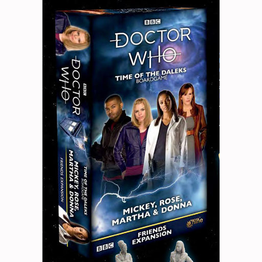 Doctor Who: Time of The Daleks Expansion: Rose Companions Set 2 Board Game (Pre-order)