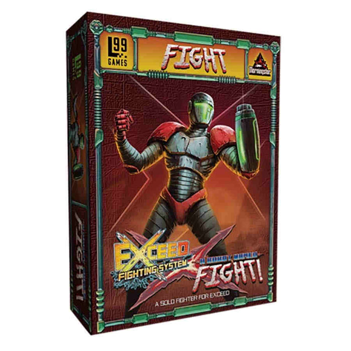 Exceed: A Robot Named Fight! Board Game