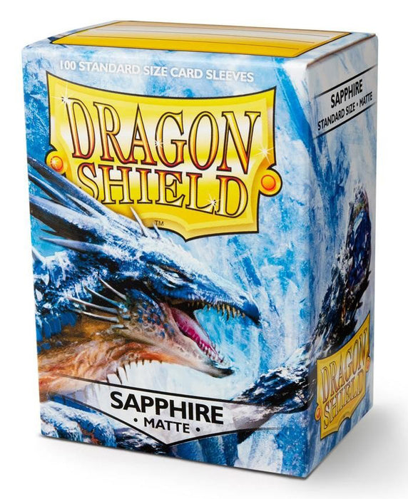 Dragon Shield Standard Sleeves - Matte Sapphire (100 COUNT)