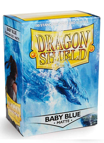 Dragon Shield Standard Sleeves - Matte Baby Blue (100 COUNT)