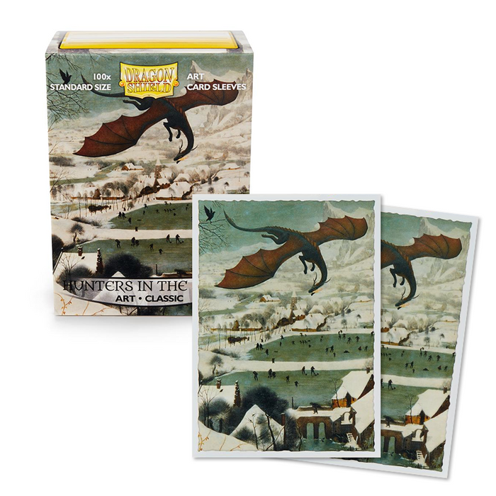 Dragon Shield Classic Art Sleeves - Hunters in The Snow (100 COUNT)