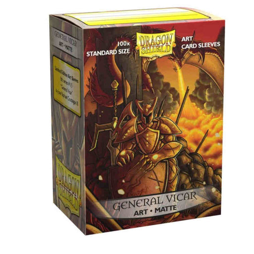 Dragon Shield Limited Matte Art Sleeves - General Vicar Portrait (100 COUNT)