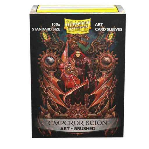 Dragon Shield Limited Sleeves - Brushed Art Emperor Scion Coat of Arms (100 COUNT)
