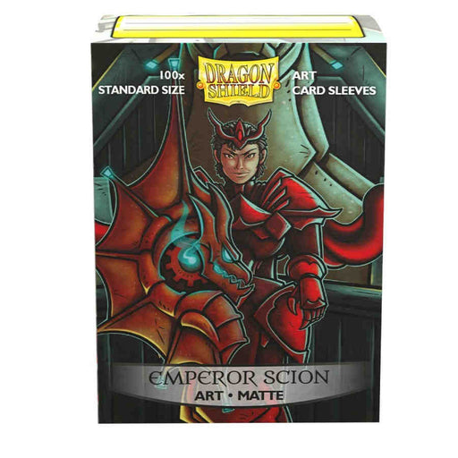 Dragon Shield Limited Matte Art Sleeves - Emperor Scion Portrait (100 COUNT) Pre-Order