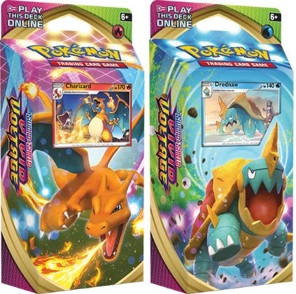 Pokemon TCG: Sword & Shield - Vivid Voltage Elite Theme Deck (Charizard & Drednaw) (Pre-order)