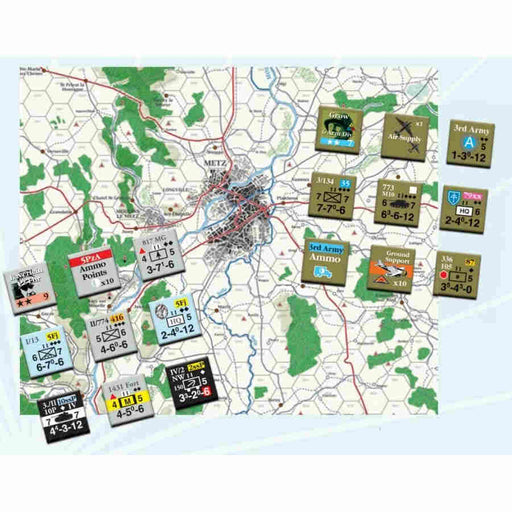 Lucky Forward: The Lorraine Campaign Board Game (Pre-order)