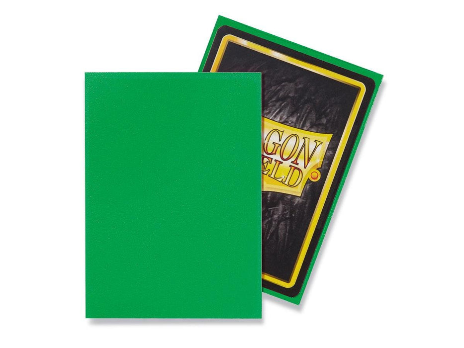 Dragon Shield Standard Sleeves - Matte Apple Green (100 COUNT)