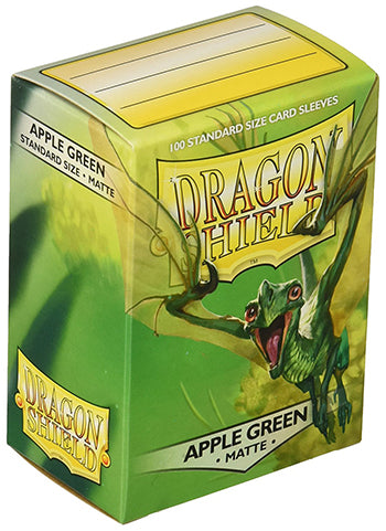 Dragon Shield Standard Mat Character Sleeves Apple Green (100 COUNT)