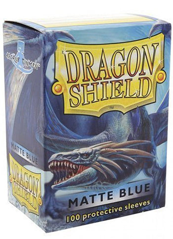Dragon Shield Standard Sleeves - Matte Blue (100 COUNT)