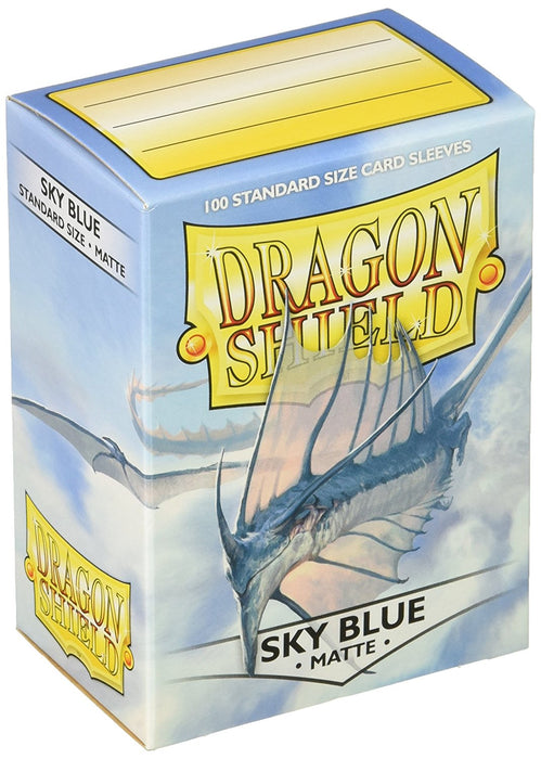Dragon Shield Standard Sleeves - Matte Sky Blue (100 COUNT)