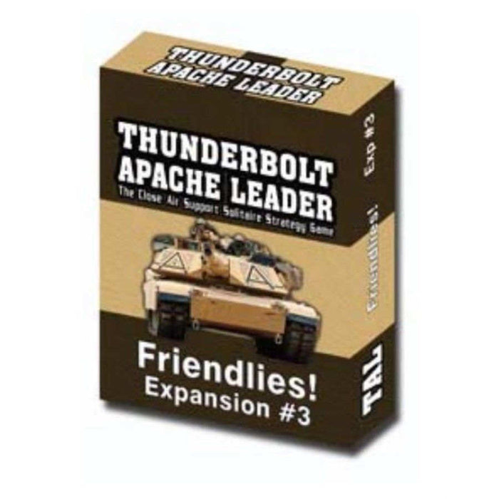 Thunderbolt-Apache Leader: Expansion 3 Friendlies Board Game (Pre-order)