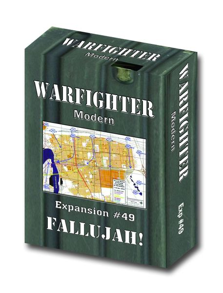 Warfighter: Modern Expansion #49 Fallujah Board Game
