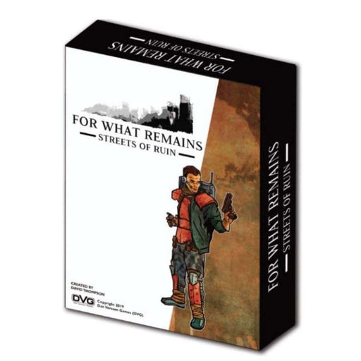 For What Remains: Streets of Ruin Board Game