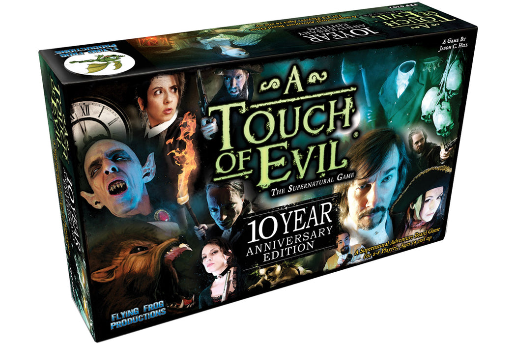 A Touch of Evil: 10 Year Anniversary Limited Deluxe Edition Board Game (Pre-Order)