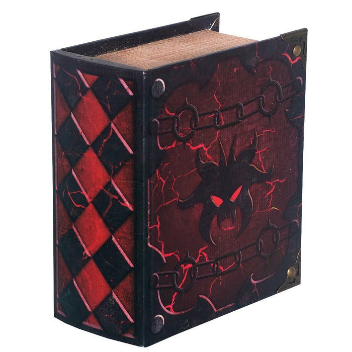 Hellbent Grimoire Pro Tour Deck Box for MtG & DnD | Wizardry Foundry