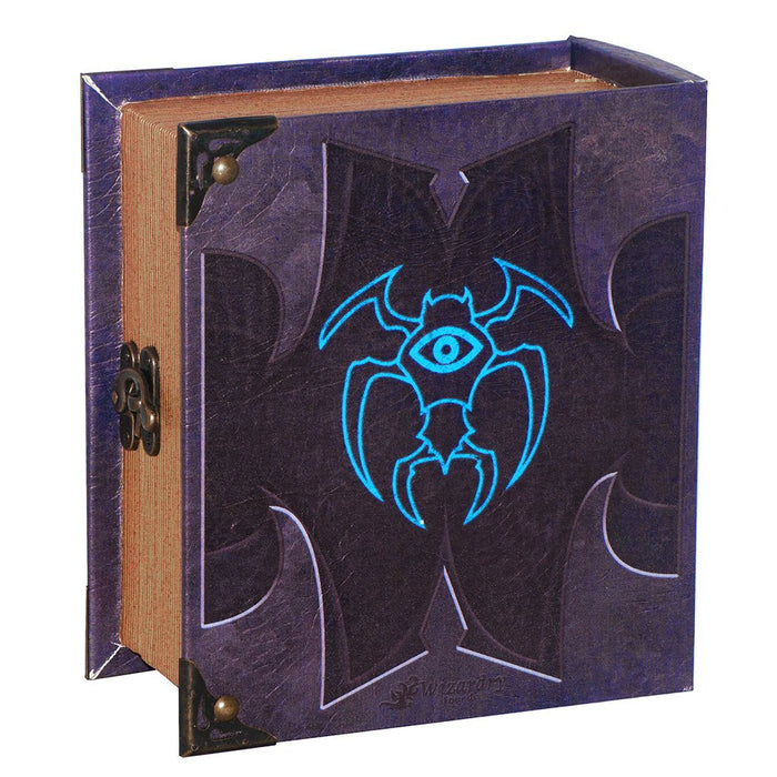 Cipher Grimoire Pro Tour Deck Box for MtG & DnD | Wizardry Foundry
