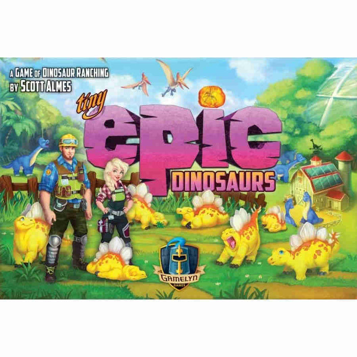 Tiny Epic Dinosaurs Board Game