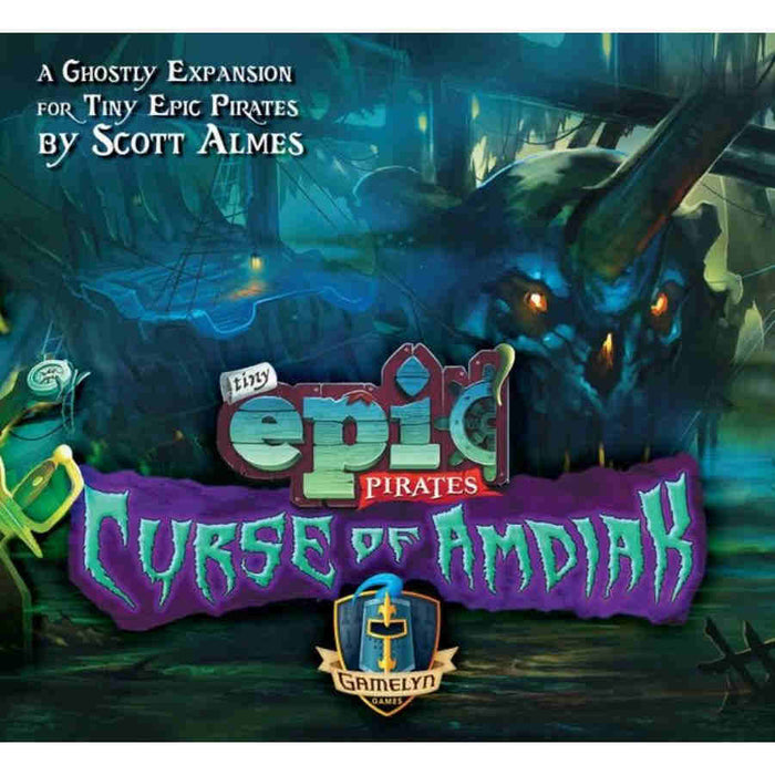 Tiny Epic Pirates: Curse Of Amdiak Expansion Board Game (Pre-order)