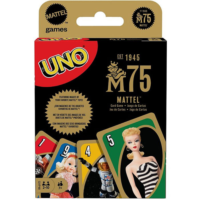 UNO: Mattel 75th Anniversary Card Game