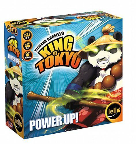 King of Tokyo Power Up Second Edition Board Game