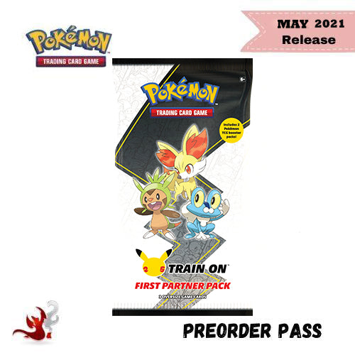 Pokemon TCG First Partner Pack: Kalos - Preorder Pass