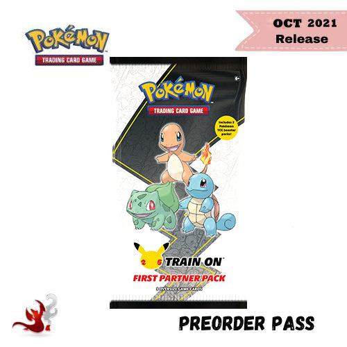 Pokemon TCG First Partner Pack: Kanto - Preorder Pass