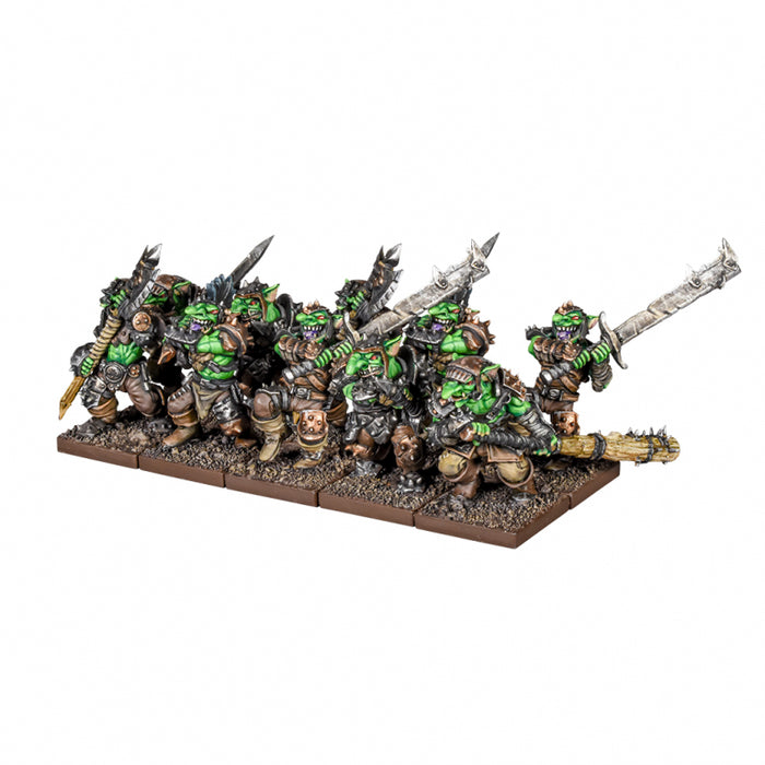 Kings of War 3rd Edition: Goblin Luggits Troop Miniature